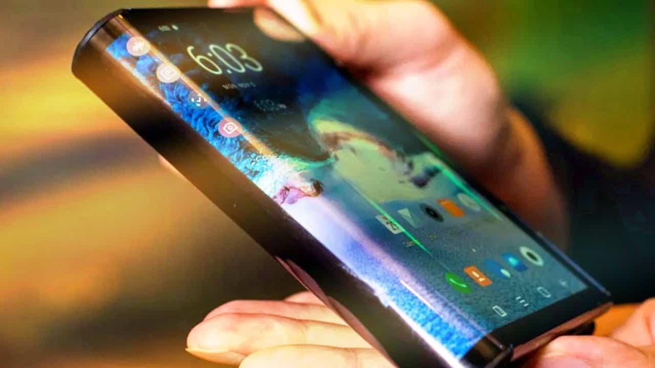 Le nouveau téléphone à écran flexible Samsung